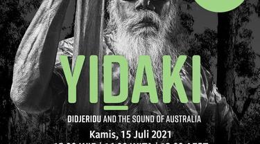 Acara tur publik virtual Museum Nasional Australia, Yidaki: Didjeridu dan the Sound of Australia yang digelar pada Kamis (15/7/2021). (Photo credit: Kedutaan Besar Australia)