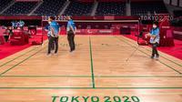 Venue Badminton Paralimpiade Tokyo 2020 (AFP)