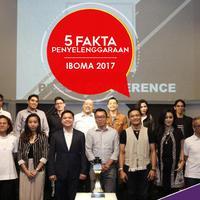 Berikut ini 5 fakta penyelenggaraan ajang Indonesian Box Office Movie Awards atau IBOMA 2017. (Foto: Herman Zakharia/Liputan6.com, Desain: Nurman Abdul Hakim/Bintang.com)