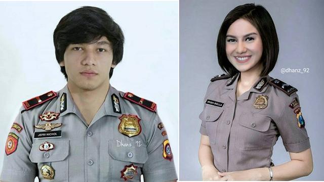 Model Anak Pake Baju Polisi Untuk Editing - Pakai Baju ...