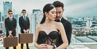 Tidak lama lagi, pasangan Syahnaz Sadiqah dan Jeje Govinda akan meresmikan hubungannya. Pasangan ini akan menikah pada 21 April Mendatang di Bandung Jawa Barat. (Instagram/riomotret)