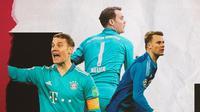 Kiper Bayern Munchen: Manuel Neuer. (Bola.com/Dody Iryawan)