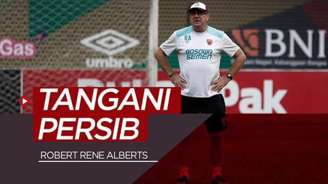 Berita video Persib Bandung resmi mengumumkan pelatih barunya yaitu mantan ahli taktik PSM Makassar, Robert Rene Alberts.