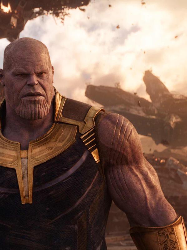 Aktor Josh Brolin saat beradegan dalam film Avengers Infinity War. Josh Brolin berperan sebagai Thanos di film tersebut. (Marvel Studios via AP)#source%3Dgooglier%2Ecom#https%3A%2F%2Fgooglier%2Ecom%2Fpage%2F%2F10000
