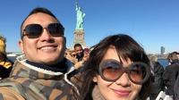 Gilang Dirga dan Adietzy Ferza liburan romantis di New York (Dok.Instagram/@gilangdirga/https://www.instagram.com/p/Bp4tMH0hGuP/Komarudin)