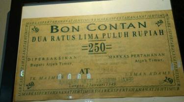 Bon koleksi Museum Langsa (Foto: Disbudpar Aceh)