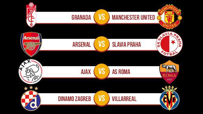 Jadwal Lengkap Leg 2 Perempat Final Liga Europa Malam Ini ...