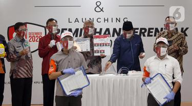 FOTO: KPU Launching Pemilihan Serentak Tahun 2020