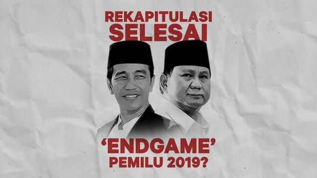 Hasil Rekapitulasi Suara Pilpres  Telah Diumumkan Kpu Jokowi Maruf Menang