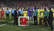 Mantan pemain Barcelona, Xavi Hernandez resmi pensiun sebagai pemain sepak bola (AP/Vahid Salemi)