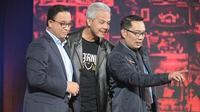 Anies Baswedan, Ganjar Pranowo dan Ridwan Kamil berjoget Any Song Challenge