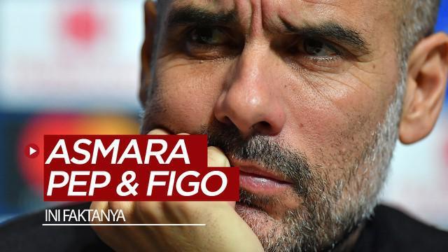 Berita video pernah ada gosip Luis Figo pernah punya hubungan asmara dengan Manajer Manchester City, Pep Guardiola. Benarkah? Figo mengungkapkan faktanya.