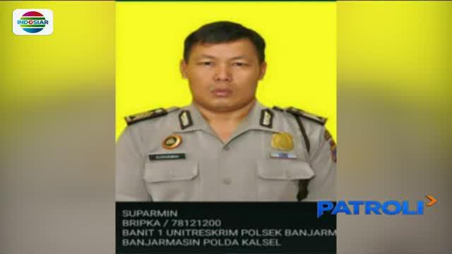 Oknum anggota Polres Banjarmasin Tengah, Kalimantan Selatan, bawa kabur tahanan kasus narkoba.