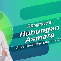 Deretan kontroversi hubungan asmara Anya Geraldine dan Bio One. (Foto: Instagram/biooone Desain: Nurman Abdul Hakim/Bintang.com)