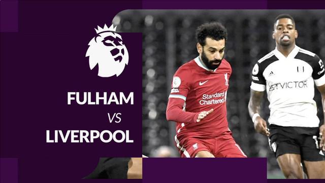 Berita motion grafis statistik Liga Inggris 2020/2021 untuk laga pekan ke-12, Liverpool yang selamat dari kekalahan saat menghadapi Fulham berkat gol penalti dari Mohamed Salah, Minggu (13/12/2020) malam hari WIB.