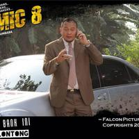 Cak Lontong main di film komedi 'Comic 8'. Foto: Twitter