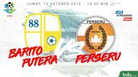 Liga 1 2018 Barito Putera Vs Perseru Serui (Bola.com/Adreanus Titus)