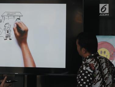 Karikatur Animasi Pencegahan Korupsi di KPK