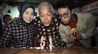 Ganjar Pranowo merayakan ulang tahun ke-51, Senin, 28 Oktober 2019. (Screenshot Instagram @ganjar_pranowo/https://www.instagram.com/p/B4Kux49BLX4/?hl=en/Putu Elmira)