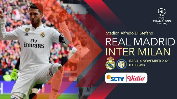 Sedang Berlangsung Ini Link Live Streaming Real Madrid Vs Inter Milan Di Liga Champions Bola Liputan6 Com