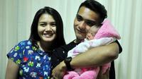 Ricky Harun mengaku masih tak percaya kini sudah menjadi seorang ayah dengan kehadiran bayi cantik, Mikaila Akyza Pratama.