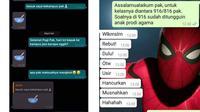 Chat Iseng 6 Dosen Ini Bikin Mahasiswa Bingung, Mikir Keras (sumber: Instagram/istanaherp Twitter/rolledcheeze)