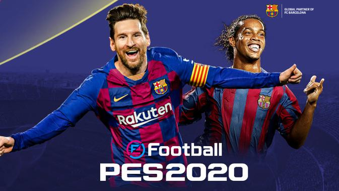 Konami mengumumkan kehadiran PES 2020 dengan nama baru (sumber: Konami)