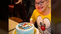 Daniel Cheng, seorang pria yang mengidap Cerebral Palsy. Foto: Facebook Daniel Cheng