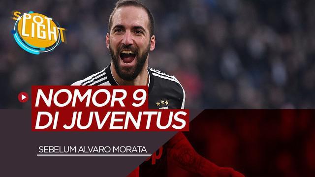 Berita Video Spotlight Sebelum Alvaro Morata, Inilah Pemain Juventus yang Menggunakan Nomor 9 Ada Gonzalo Higuain dan Mirko Vucinic