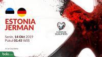Kualifikasi Piala Eropa 2020 - Estonia Vs Jerman (Bola.com/Adreanus Titus)