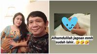 Tiara Amalia melahirkan anak pertamanya berjenis kelamin laki-laki. (Sumber: Instagram/@tiaraamalia97)