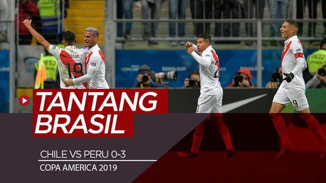 Berita video highlights semifinal Copa America 2019 antara Chile melawan Peru yang berakhir dengan skor 0-3, Rabu (3/7/2019).