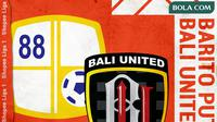 Shopee Liga 1 - Barito Putera Vs Bali United (Bola.com/Adreanus Titus)