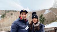 Bams eks Samsons dan istrinya, Mikha Vita Wijaya. (Foto: Instagram @bams_1606)