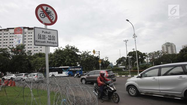 Mahkamah Agung Batalkan Larangan Pembatasan Sepeda Motor Melintas di Thamrin
