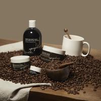 Rangkaian produk perawatan hasil olahan limbah kopi