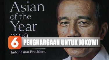 Dalam instagramnya, Jokowi menuliskan penghargaan tersebut bukan untuk dirinya melainkan untuk Indonesia.