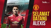 Alexis Sanchez resmi bergabung dengan Manchester United. (Bola.com/Dody Iryawan)