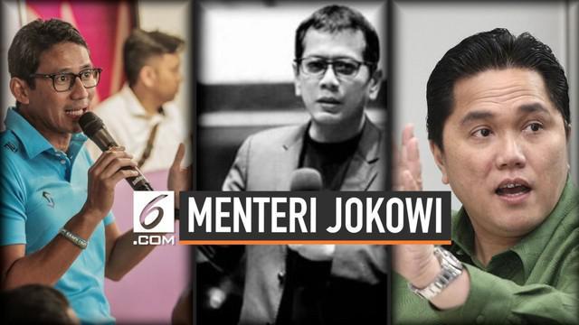 Beberapa nama tokoh muda disebut-sebut bakal masuk ke kabinet Jokowi-Ma'ruf. Namun, ada beberapa tokoh yang tidak berpikir masuk ke dalam kabinet.