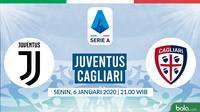 Serie A: Juventus vs Cagliari. (Bola.com/Dody Iryawan)