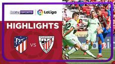 Berita video beragam peluang emas untuk menghasilkan gol dalam laga Atletico Madrid melawan Athletic Bilbao pada pekan kelima Liga Spanyol (LaLiga) 2021/2022, Sabtu (18/9/2021) malam hari WIB.