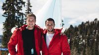 Pendiri perusahaan pakaian Love Your Melon, Zachary Quinn dan Brian Keller (CNBC.com)