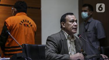 FOTO: Ketua KPK Jelaskan Keterlibatan Wakil Ketua DPR Terkait Kasus Tanjung Balai