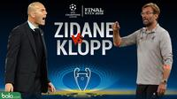 Final Liga Champions 2017/2018 Duel Zidane Vs Klopp (Bola.com/Adreanus Titus)