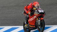 Jeremy Alcoba, Pembalap Tim Indonesian Racing di Moto3, Juara 3 di Moto3 Jerez, Spanyol (ISt)