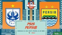 Shopee Liga 1 - PSIS Semarang Vs Persib Bandung (Bola.com/Adreanus Titus)