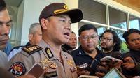 Kabid Humas Polda Jabar AKBP Trunoyudo Wisnu Andiko. (Siti Fatonah/JawaPos.com)