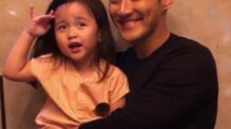 Sebagai paman, Siwon selalu menunjukkan kasih sayangnya pada keponakannya. (Liputan6.com/IG/@siwonchoi)