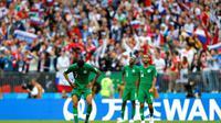Kekalahan 0-5 dari Rusia di Piala Dunia 2018 membuat Arab Saudi belum pernah menang dalam 11 pertandingan terakhir mereka. (AFP)