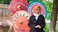 Atalia Praratya Ridwan Kamil di Festival Indonesia Moscow.